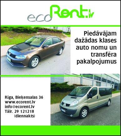 """""""Ecorent.lv"""", SIA reklāma Saeimas un Valdības amatpersonu un politiķu kontaktinformācijas katalogā"""