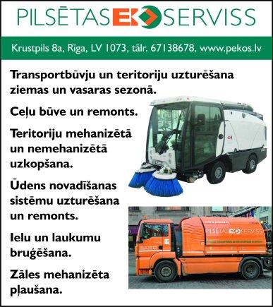 """""""Pilsētas EKO serviss"""", SIA reklāma Saeimas un Valdības amatpersonu un politiķu kontaktinformācijas katalogā"""