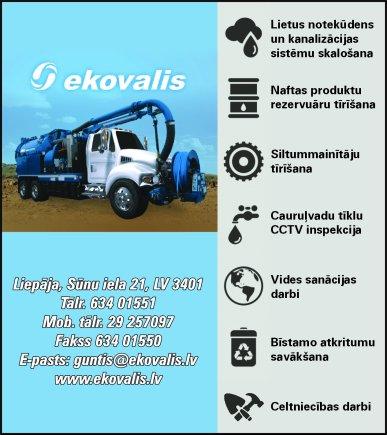 """""""Ekovalis Latvija"""", SIA reklāma Saeimas un Valdības amatpersonu un politiķu kontaktinformācijas katalogā"""