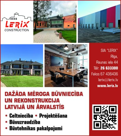 """""""Lerix"""", SIA reklāma Saeimas un Valdības amatpersonu un politiķu kontaktinformācijas katalogā"""