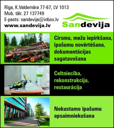 """""""Sandevija"""", SIA reklāma Saeimas un Valdības amatpersonu un politiķu kontaktinformācijas katalogā"""