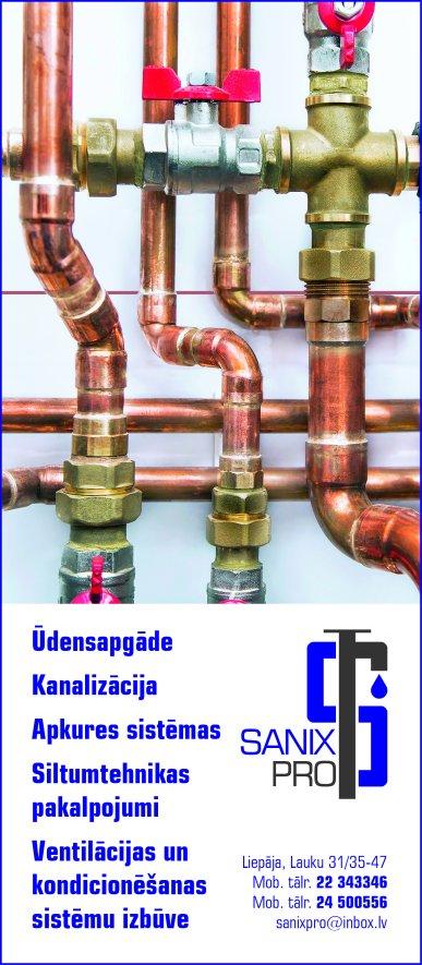 """""""Sanix Pro"""", SIA reklāma Saeimas un Valdības amatpersonu un politiķu kontaktinformācijas katalogā"""