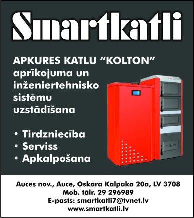 """""""Smart Katli"""", SIA reklāma Saeimas un Valdības amatpersonu un politiķu kontaktinformācijas katalogā"""