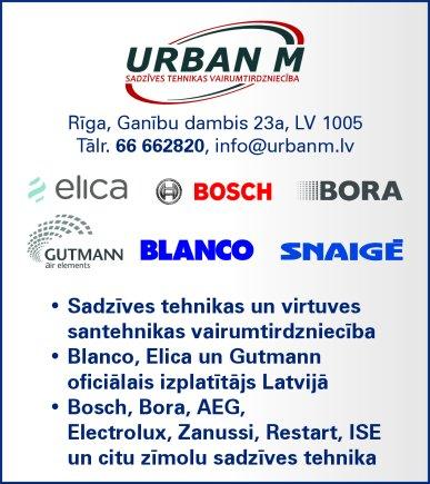 """""""Urban M"""", SIA reklāma Saeimas un Valdības amatpersonu un politiķu kontaktinformācijas katalogā"""