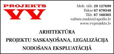 """""""VV Projekts"""", SIA reklāma Saeimas un Valdības amatpersonu un politiķu kontaktinformācijas katalogā"""