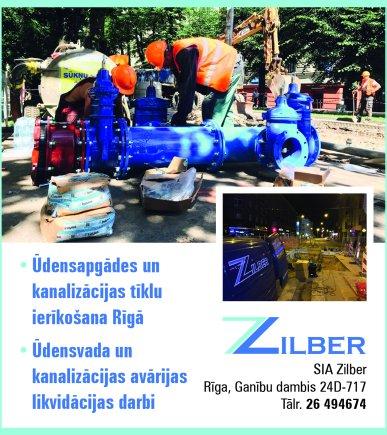 """""""Zilber"""", SIA reklāma Saeimas un Valdības amatpersonu un politiķu kontaktinformācijas katalogā"""