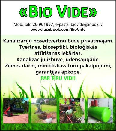 """""""BioVide"""", IK reklāma Saeimas un Valdības amatpersonu un politiķu kontaktinformācijas katalogā"""