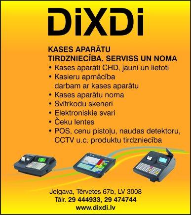 """""""DiXDi"""", SIA reklāma Saeimas un Valdības amatpersonu un politiķu kontaktinformācijas katalogā"""