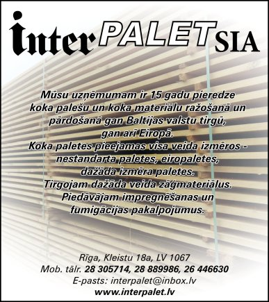 """""""Interpalet"""", SIA reklāma Saeimas un Valdības amatpersonu un politiķu kontaktinformācijas katalogā"""