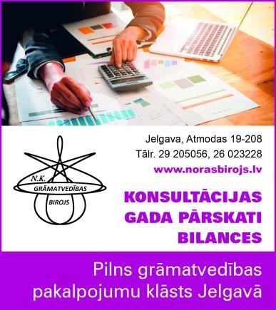 """""""N.K. Grāmatvedības birojs"""", SIA reklāma Saeimas un Valdības amatpersonu un politiķu kontaktinformācijas katalogā"""