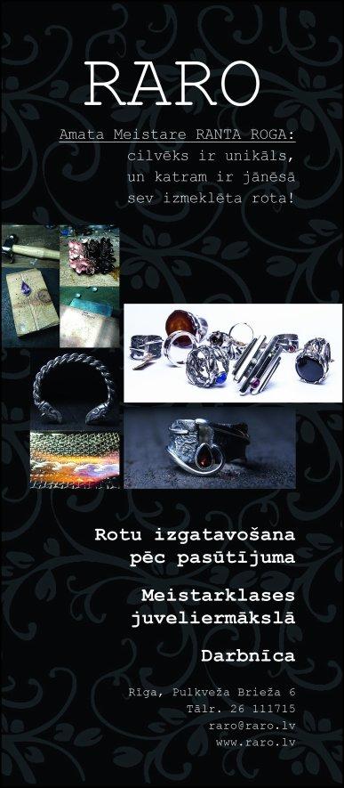 """""""RaRo"""", SIA reklāma Saeimas un Valdības amatpersonu un politiķu kontaktinformācijas katalogā"""