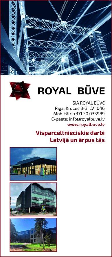 """""""Royal būve"""", SIA reklāma Saeimas un Valdības amatpersonu un politiķu kontaktinformācijas katalogā"""