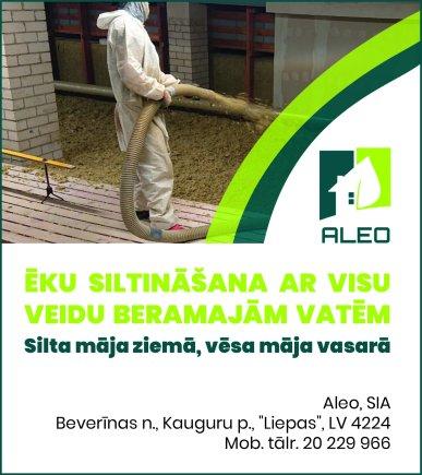 """""""Aleo"""", SIA reklāma Saeimas un Valdības amatpersonu un politiķu kontaktinformācijas katalogā"""