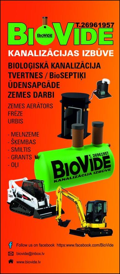 """""""BioVide"""", SIA reklāma Saeimas un Valdības amatpersonu un politiķu kontaktinformācijas katalogā"""