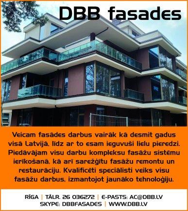 """""""DBB-fasades"""", SIA reklāma Saeimas un Valdības amatpersonu un politiķu kontaktinformācijas katalogā"""