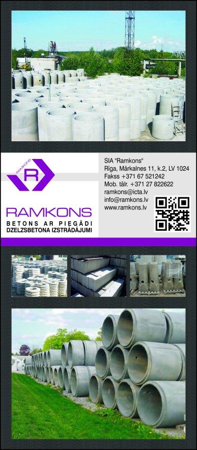 """""""Ramkons"""", SIA reklāma Saeimas un Valdības amatpersonu un politiķu kontaktinformācijas katalogā"""